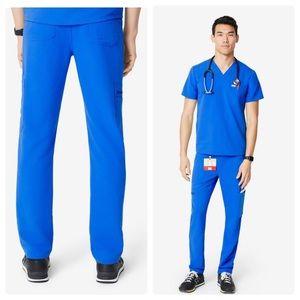 Figs Cairo Cargo Scrub Pants Blue Men's Sz Medium